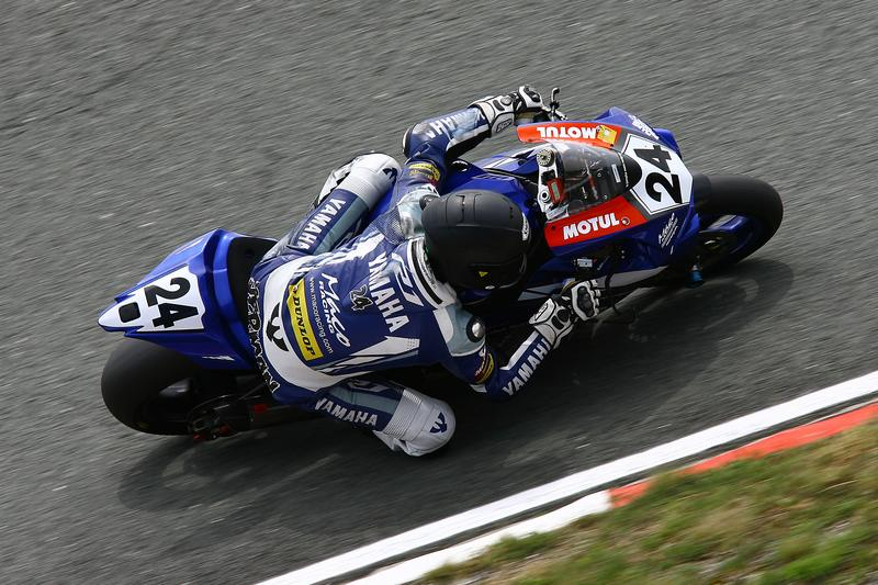 Yamaha Maco Racing Team with a lap record in Rijeka