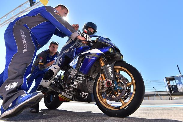 Yamaha Maco Racing Team on the 24 hours race at the Bol d´Or