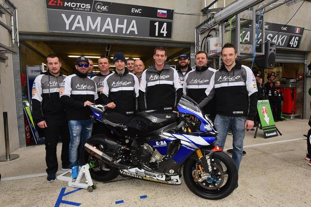 TOP 10 for YAMAHA MACO RACING TEAM in LE MANS