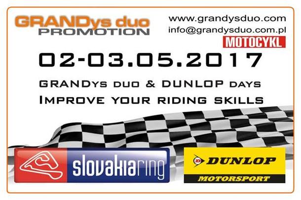 Track days & DUNLOP test