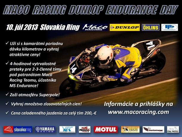 Maco Racing Dunlop Endurance Day
