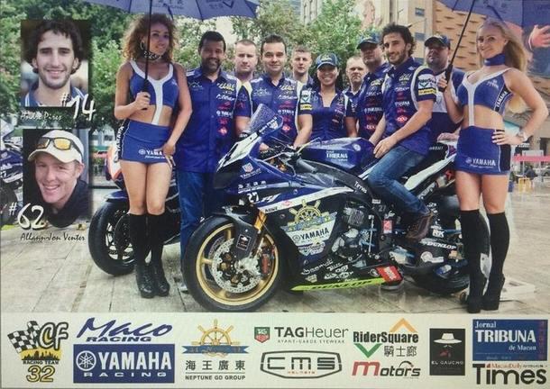 Náš tím je na Macau Grand Prix