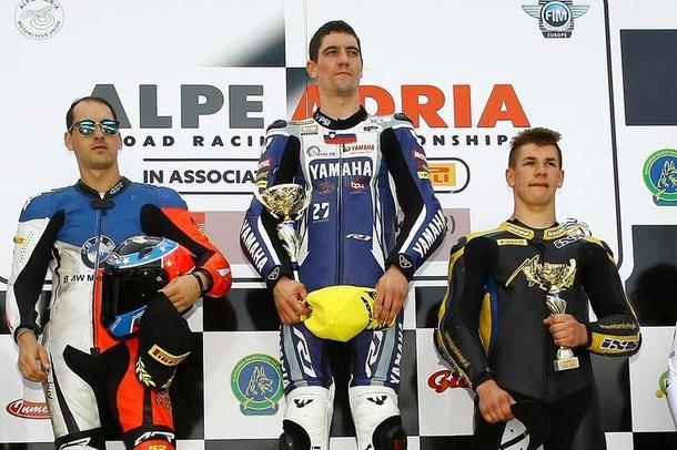 Yamaha Maco Racing Team s Markom Jermanom ovládli preteky v Rijeke